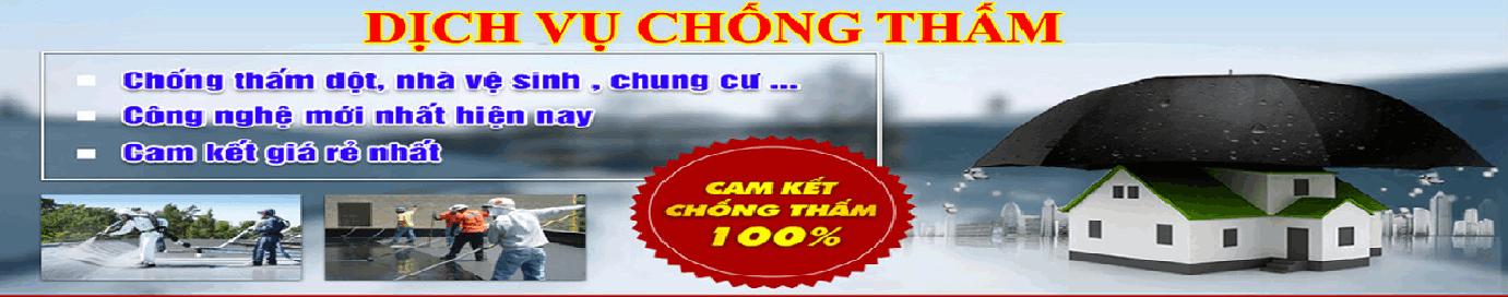 Chống thấm dột tại Hà Nội uy tín giá rẻ đảm bảo triệt để 100%